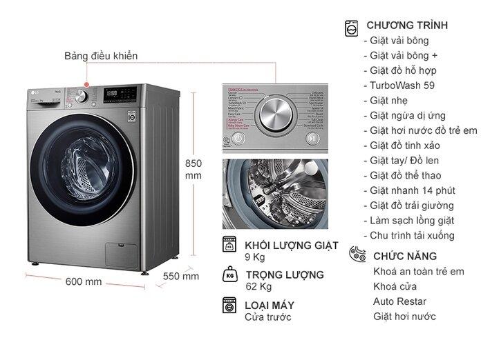 Nên mua máy giặt hãng nào tốt