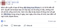"""Nở rộ dịch vụ thuê người """"xếp hàng mua iPhone X"""" tại nước ngoài"""
