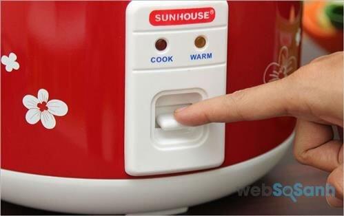Nồi cơm điện Sunhouse dùng có tốt không?