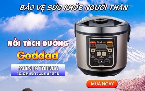 Nồi cơm điện tách đường Goddad có tốt không, giá bán?