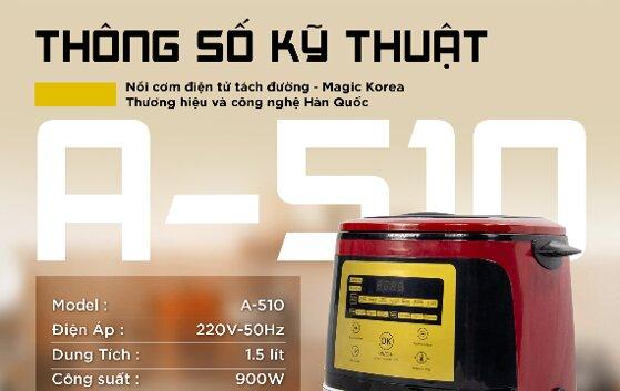 Nồi cơm điện tách đường Magic Korea tốt không, giá bán, nơi mua?