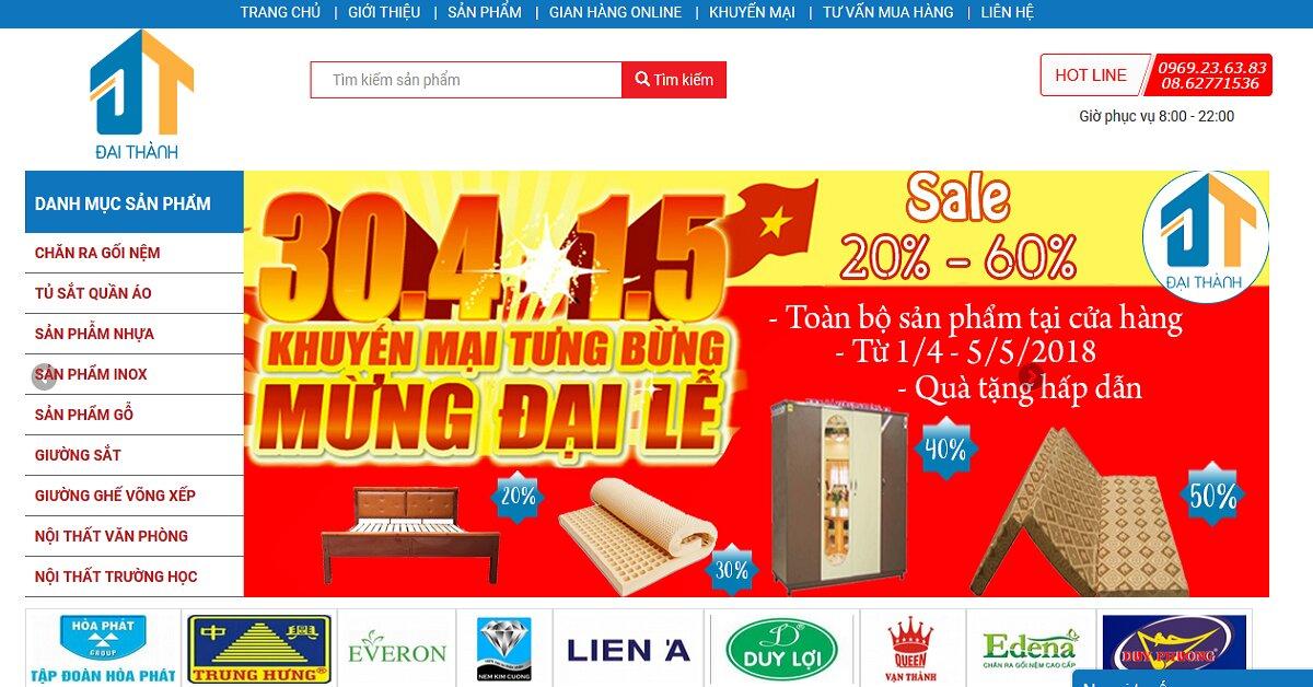 Nội thất Đại Thành – Chuyên cung cấp sản phẩm nội thất giường sắt, tủ sắt giá tốt nhất thị trường hiện nay