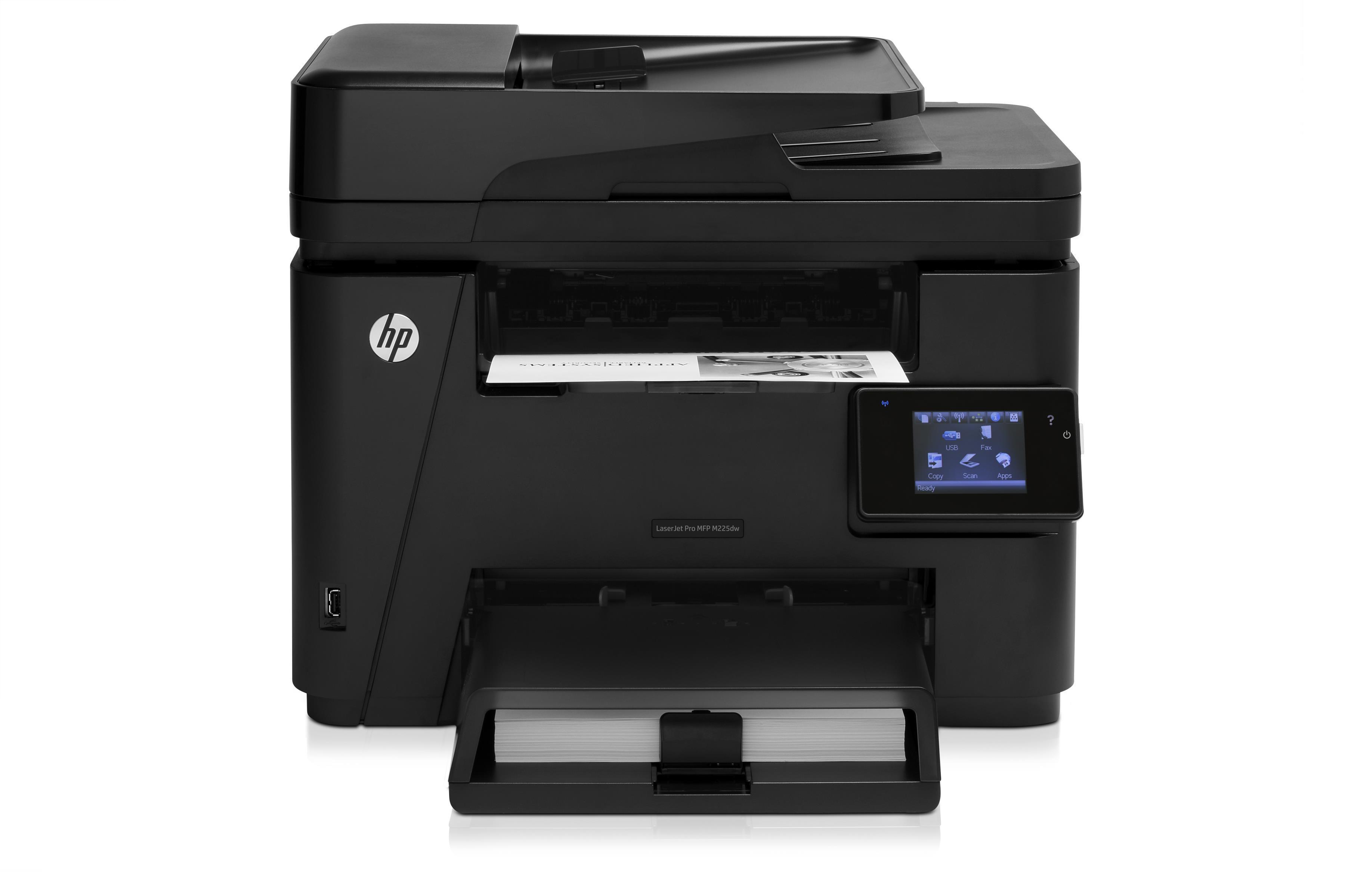 So sánh máy in màu đa năng Fuji Xerox DocuPrint M355DF và HP