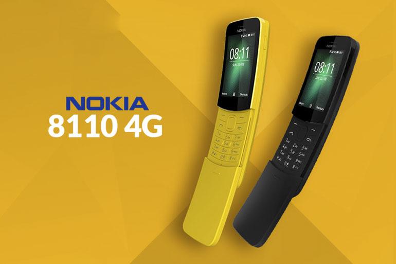 Điện thaoij Nokia 8110 4G với thiết kế sang trọng, hiện đại cùng với đó là những cải tiến năng cấp bên trong hệ điều hành đầy thú vị