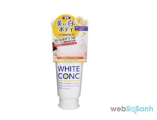 Tẩy tế bào chết trắng da White Conc Nhật Bản