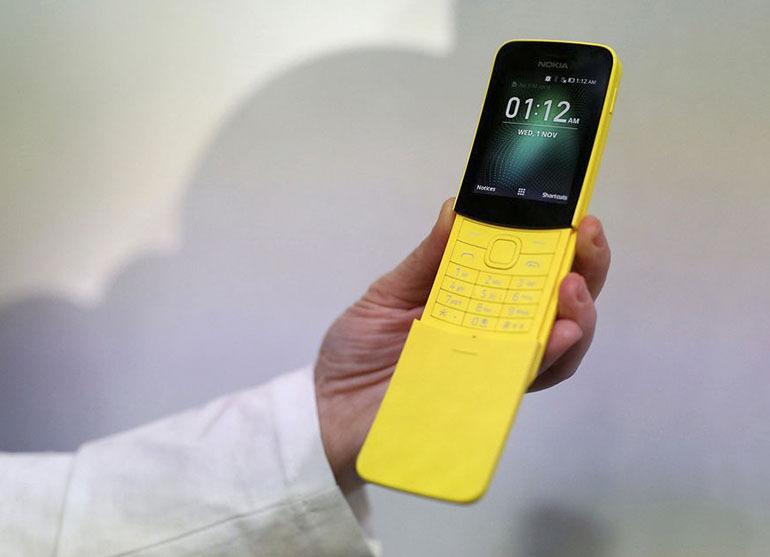 Điện thoại Nokia 8110 4G ngoài viêc sở hữu một thiết kế bắt mắt nó còn có một hiệu năng tốt trong tầm giá
