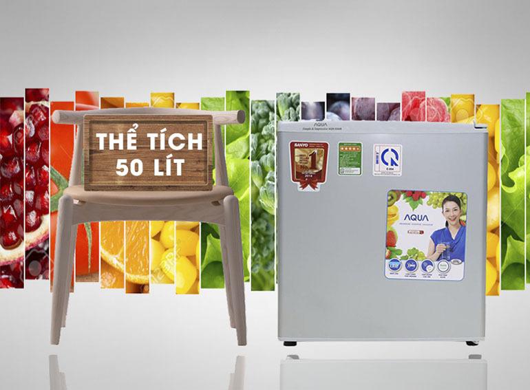 Tủ lạnh Aqua AQR-55AR 50 lít chất lượng được đảm bảo