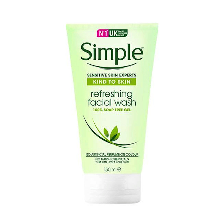 Sữa rửa mặt Simple Skin To Skin Refreshing Facial Wash Gel