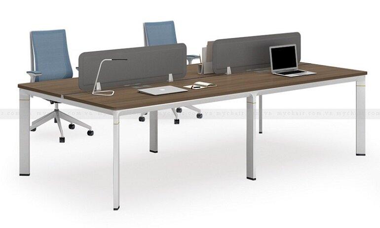 Nên chọn bàn nhân viên phù hợp với không gian và diện tích văn phòng