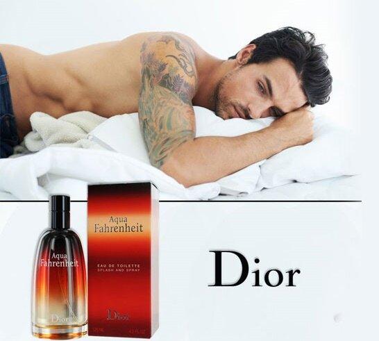 Nước hoa nam Dior Aqua Fahrenheit – mùi hương dành cho người đàn ông mạnh mẽ, hấp dẫn và đầy hoang dã