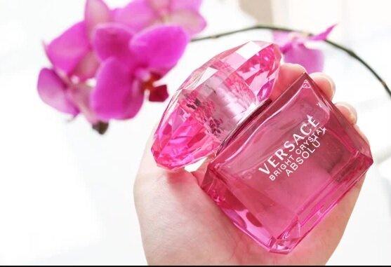 Nước hoa Versace Bright Crystal Absolu for women – phiên bản parfume gợi cảm hơn của Bright Crystal