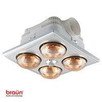Đèn sưởi nhà tắm Braun BU04G