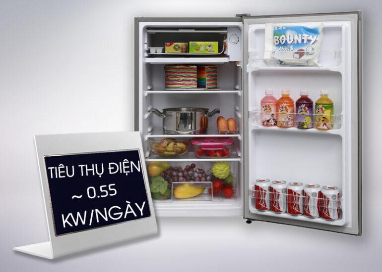 Tủ lạnh mini Electrolux EUM0900SA 85 lít - Giá tham khảo khoảng 2.690.000