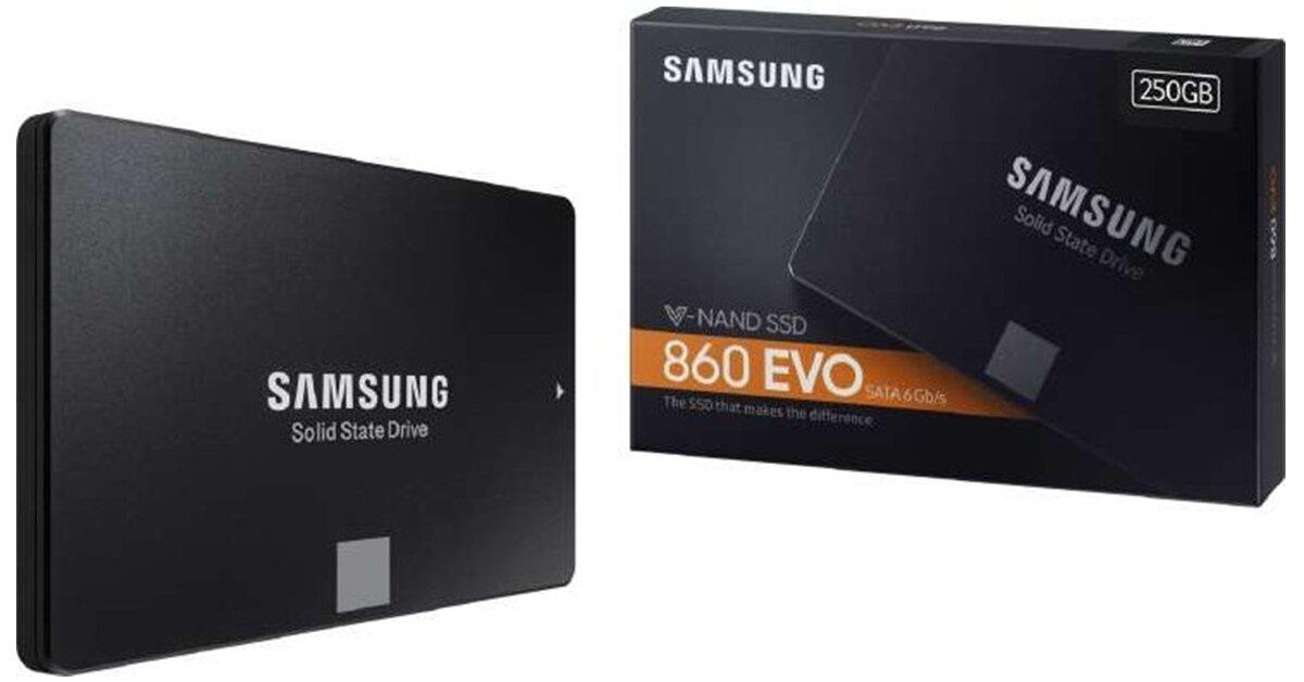 Ổ cứng SSD Samsung 860 EVO 250Gb: Đánh giá chi tiết, ưu điểm và giá bán