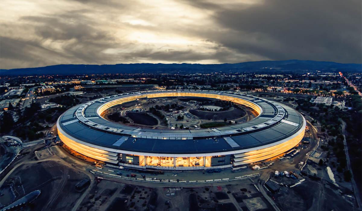 Trụ sở Apple tại Cupertino, California