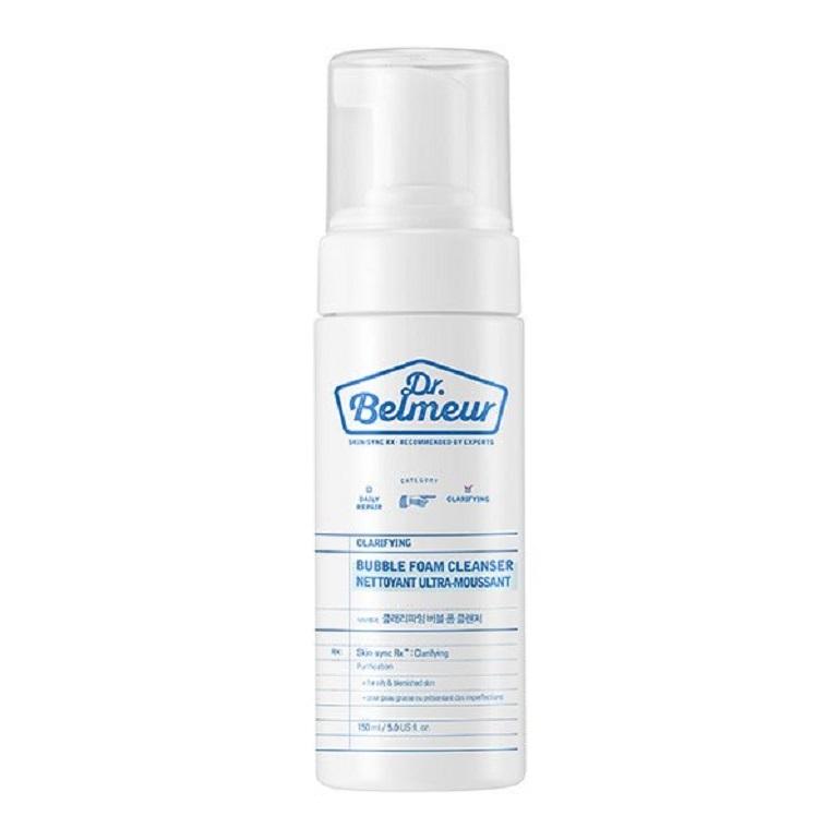 Sữa rửa mặt The Face Shop Dr Belmeur Clarifying Bubble Foam Cleanser