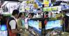 Tại sao hình ảnh hiển thị trên tivi ở siêu thị lại rõ và nét hơn khi ta xem cùng chiếc tivi đó ở nhà ?