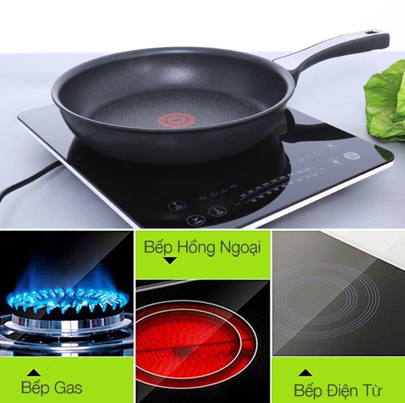 Chảo Tefal C4000202 21cm nhỏ gọn, hiệu suất đun nấu cao, dùng được với nhiều loại bếp
