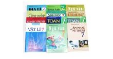 Giá bộ sách giáo khoa lớp 7 năm học 2018-2019 bao nhiêu tiền?