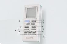 Cách sử dụng remote điều khiển điều hòa Aqua