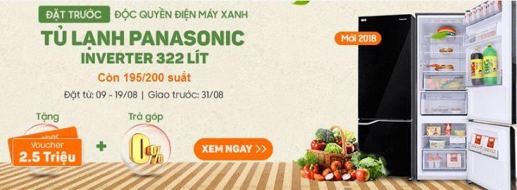 Tủ lạnh điện máy xanh xả hàng trưng bày : Sharp, Samsung và Panasonic vẫn là lựa chọn hàng đầu của người tiêu dùng