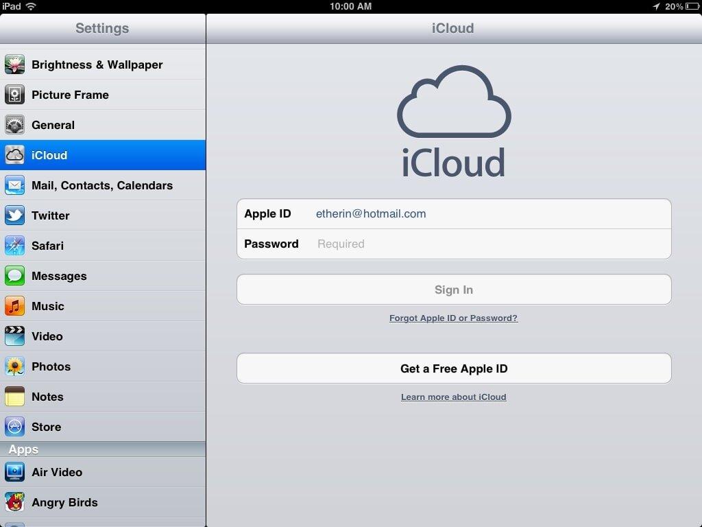 Cách mở khóa iCloud khi bị khóa