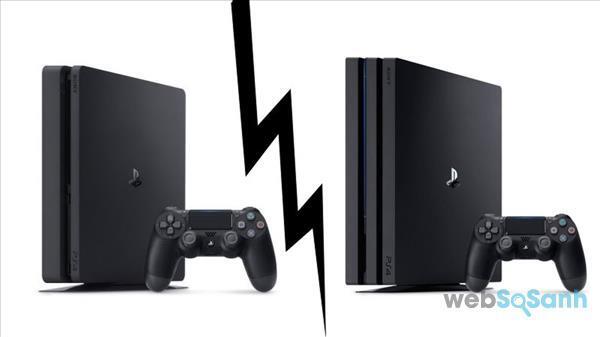 PS4 Slim và PS4 Pro