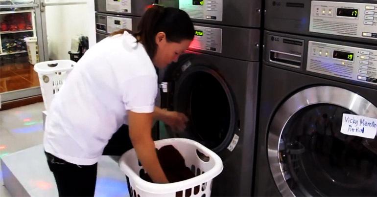 Máy giặt công nghiệp LG cũ có tốt không