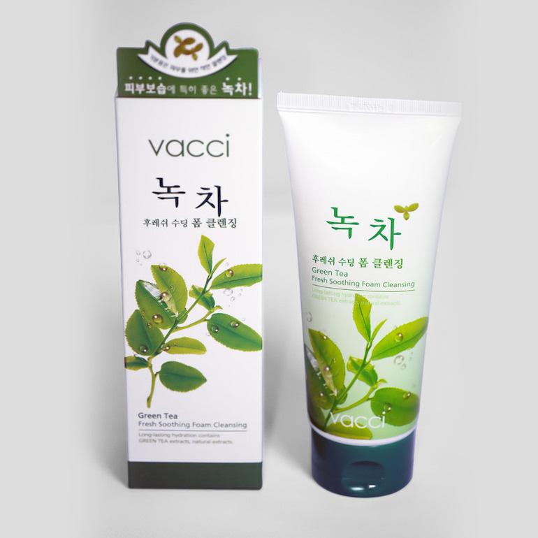 Sữa rửa mặt Vacci trà xanh