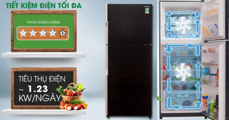Đánh giá tủ lạnh hitachi r-vg470pgv3 có tốt không ?