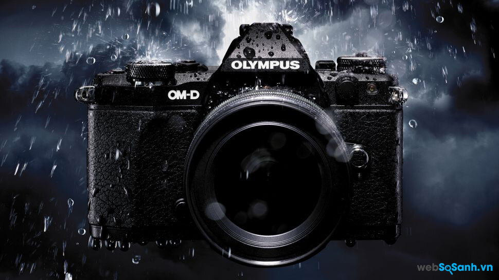 Olympus D E-M5 Mark II nhỏ bé nhưng mạnh mẽ với cảm biến 40megapixel