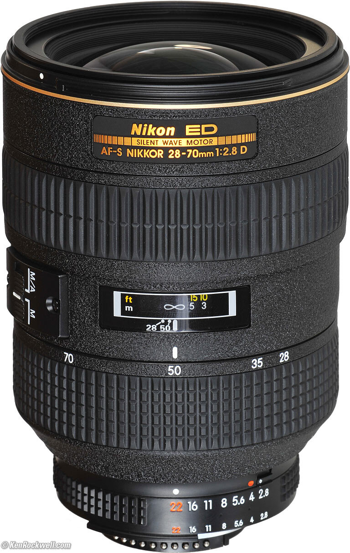 Ống kính Nikon AF-S 28-70mm – Kéo gần không gian