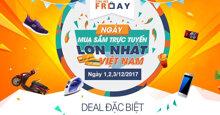 Online Friday 'Nổ DEALS' – Deal SỐC giá BỐC LỬA