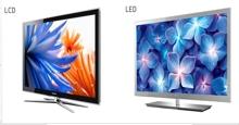 So sánh khác biệt giữa tivi LED và tivi LCD