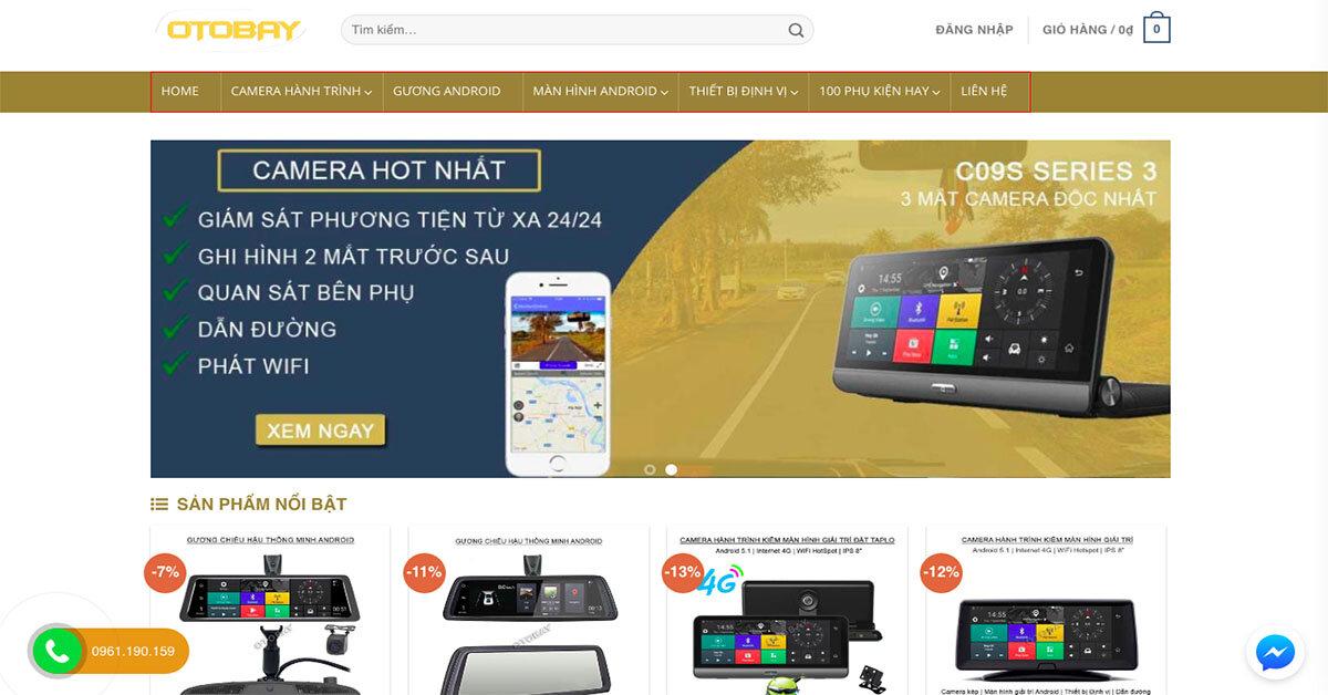 Otobay – Thương hiệu thuộc Công ty cổ phần đầu tư và công nghệ Thiên Thường