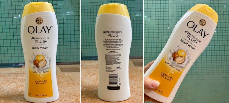 Sữa tắm Olay Ultra Moiture Plus+ - Giá tham khảo: 159.000 vnđ/ chai dung tích 700ml