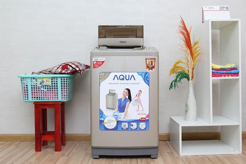 Máy giặt cửa trên Aqua AQW-DQ105ZT