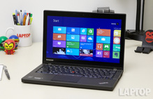 Lenovo ThinkPad X240: thời  lượng pin cực kì ấn tượng