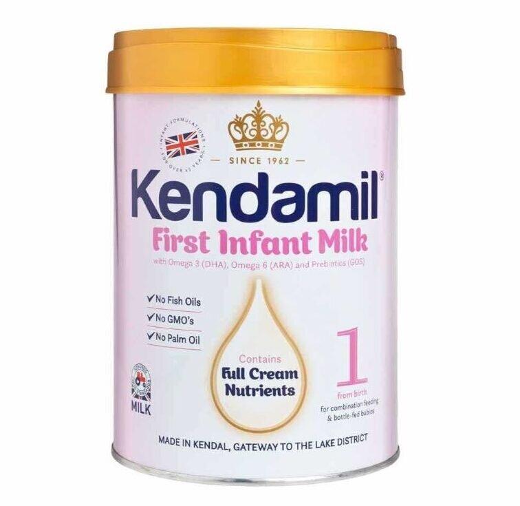 Sữa bột tăng cân cho bé Kendamil