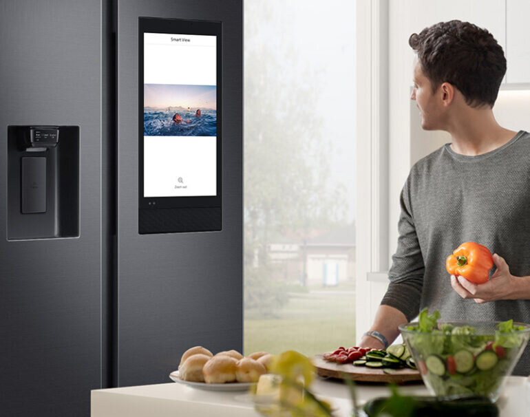 Ưu điểm của tủ lạnh Samsung có màn hình