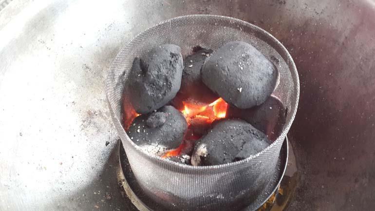 bếp nướng than