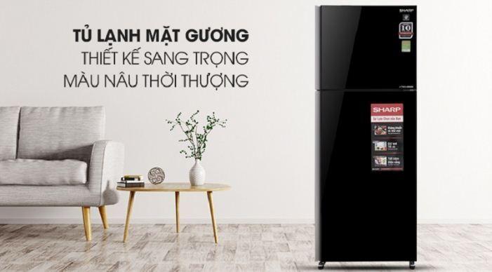 Tủ lạnh Sharp Inverter 364 lít SJ-XP405PG-BK - Giá rẻ nhất: 7.863.000 vnđ