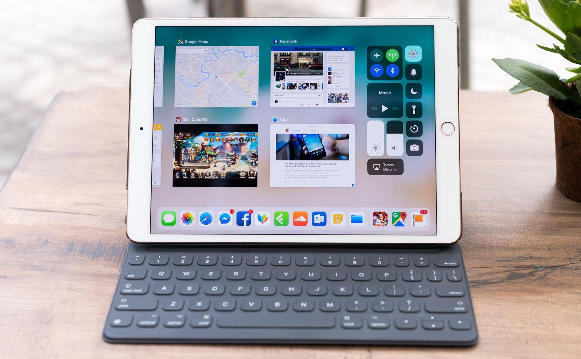 Soạn thảo văn bản với chiếc iPad thông minh cần thao tác như thế nào?