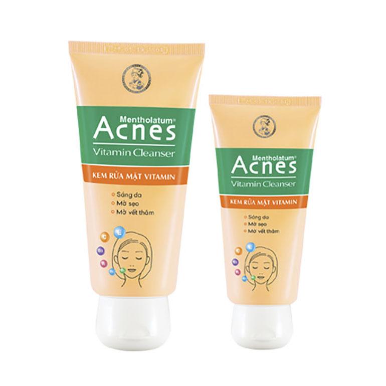 Sữa rửa mặt trị mụn Acnes nhẹ nhàng chăm sóc làn da, giúp phục hồi hư tổn, ngăn chặn vi khuẩn phát triển trên thành bề mặt da của bạn hiệu quả nhất