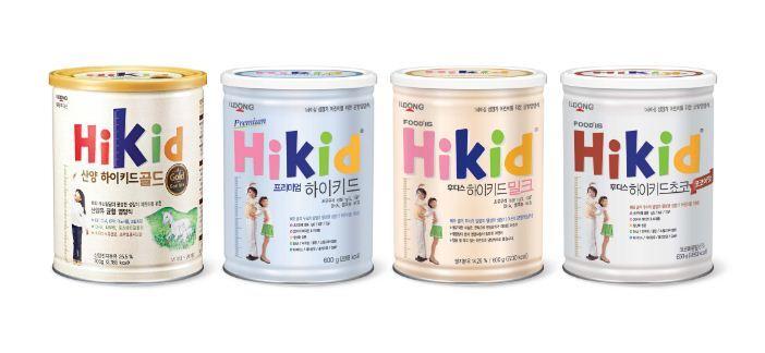 4 loại sữa tăng chiều cao Hikid trên thị trường