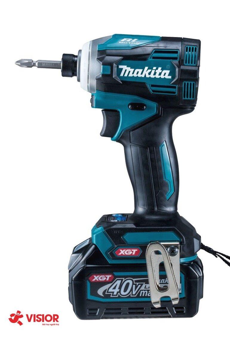 Máy vặn vít dùng pin 40V Makita TD001GZ (Thân máy)