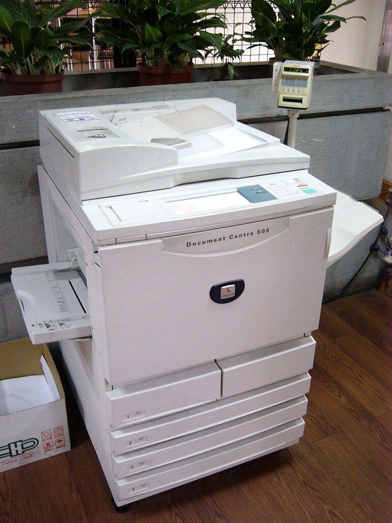 Máy photocopy văn phòng đã qua sử dụng.