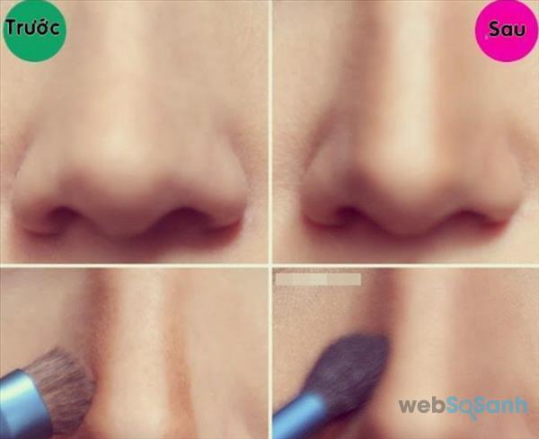 Mẹo trang điểm mũi tẹt và ngắn trông cao hơn