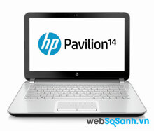 Laptop HP Pavilion 14 hiệu năng tốt, pin kém
