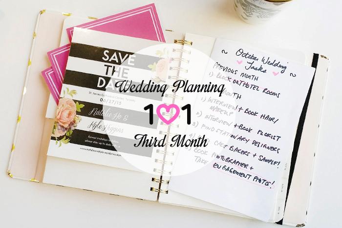 Bạn cần phải có lịch trình để chuẩn bị đám cưới